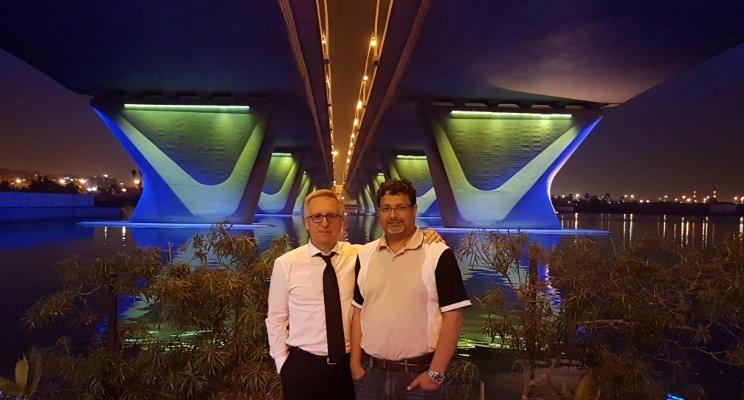 Vladimir Grigorik & Sajeeb Koya, Dubai, 19.10.2017